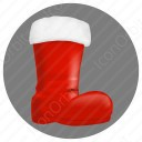 Santa Shoes icon