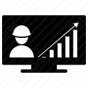 Digital Growth Man icon