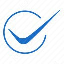 Circle Blue Checkmark icon