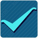 Square List Checkmark icon