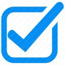 Checked Box Checkmark icon