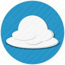 White Clouds On Blue Sky icon