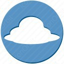 Blue Sky Cloud icon