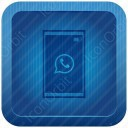 Blue Square Mobile icon