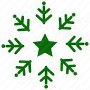 Christmas Snow Flake icon