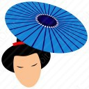 Japanese Man with Fan icon