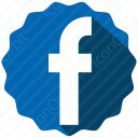 Blue Badge Facebook Icon