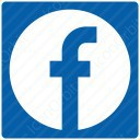 Blue Square Facebook Icon