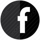 Facebook Circle Logo icon