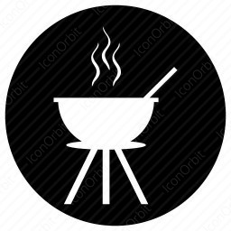 Hot Pot with Stand icon