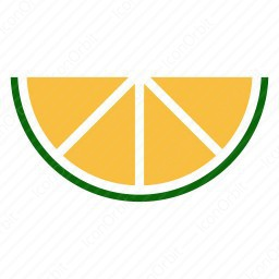 Lemon Half Cut icon