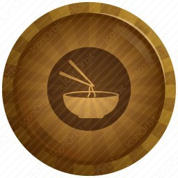 Chopsticks and Noodles Bowl icon