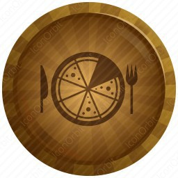 Colorful Pizza Icon Iconorbit Com
