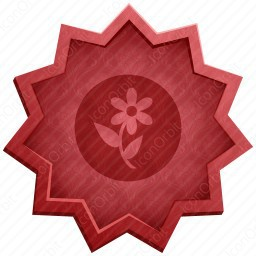 Flower with Leaf icon