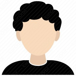 Boy With Curly Hair Icon Iconorbit Com