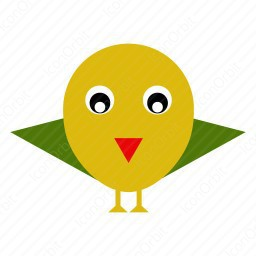 Small Bird Clipart icon