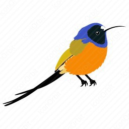 Mix Colorful Bird icon