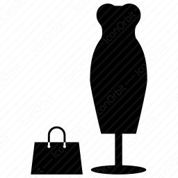 Shopping Icon With Bag Iconorbit Com