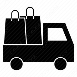 Shopping Delivery Icon Iconorbit Com
