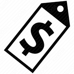 shopping sale tag icon