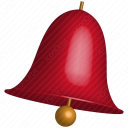 Red Bell Icon Iconorbit Com
