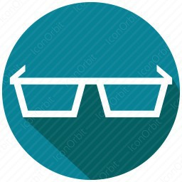 spectacle 3d icon