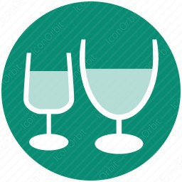 Party Glasses Icon Iconorbit Com