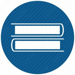Rounded Book Clip Art icon