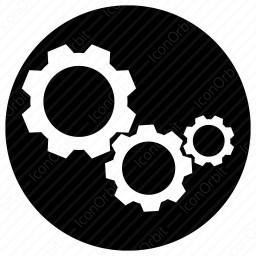 Set Of 3 Gears Icon Iconorbit Com