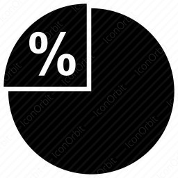 Profit Pie Chart  icon