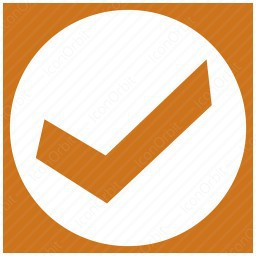 Square Verify Checkmark icon