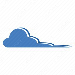 Flat Color Cloud icon