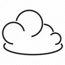 Lined Clouds icon