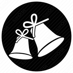 Christmas Bell Icon Iconorbit Com