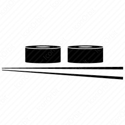 Bowls and Chopsticks icon